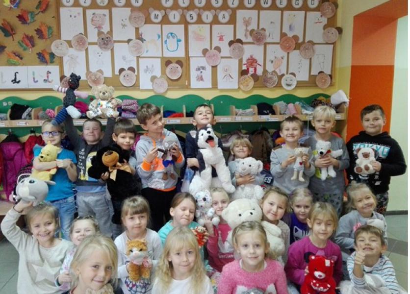 Dzień Pluszowego Misia w oddziale przedszkolnym