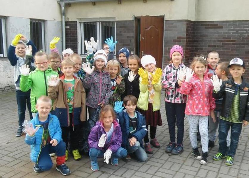 Klasa 2A  Sprzątanie Świata