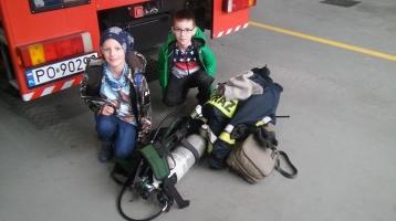 2A odwiedza Straż Pożarną