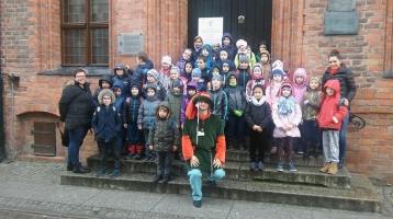 II A na wycieczce szkolnej w Toruniu