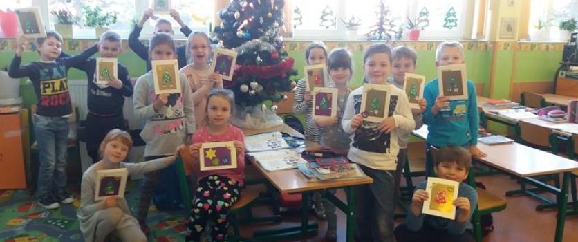 Ia – sprawimy innym radość, robimy kartki dla dzieci ze szpitala onkologicznego