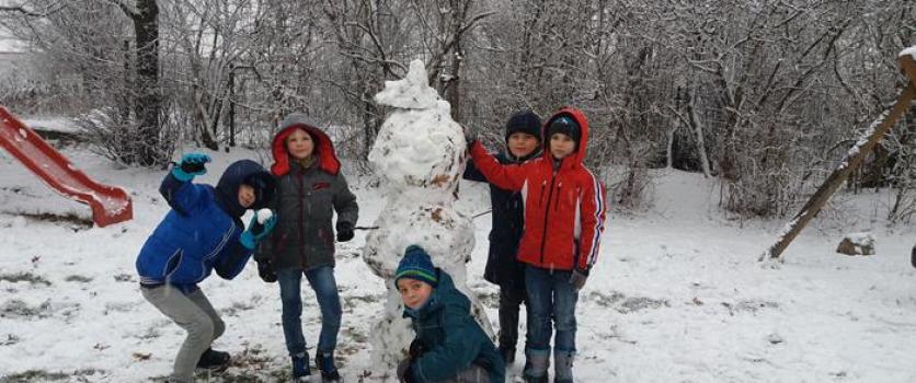 IIa – zabawy na śniegu