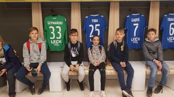 Koło historyczne zwiedza Stadion Miejski
