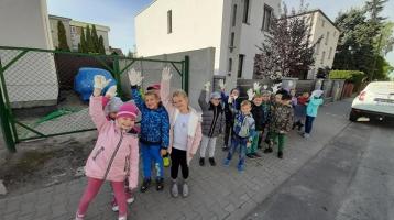 Akcja Sprzątania Świata w oddziale przedszkolnym