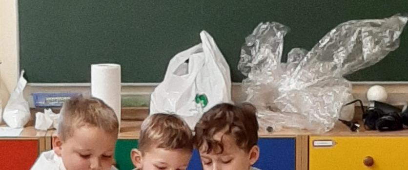 """Warsztaty chemiczne pt. """" Powietrze"""" – 25.10.2019r. Grupa """" 0″"""