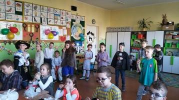 Andrzejki w klasie IIIa i IIIb