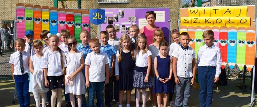 Rozpoczęcie roku szkolnego – klasa 2 B