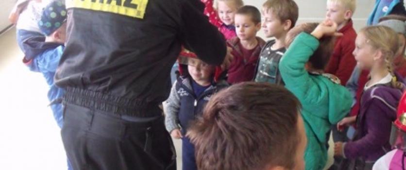 Oddział przedszkolny w Straży Pożarnej