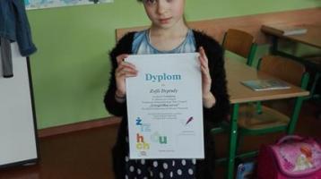Laureaci klasowego etapu Konkursu Ortograficznego Gżegżółka