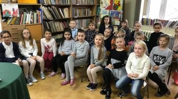 Konkurs recytatorski 3d Nasząklasę reprezentowały Amelia Głuchowska, Zuzanna Słoma, Karina Yartska