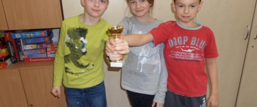 3 miejsce w 7 Świetlicowym Maratonie Układania Puzzli
